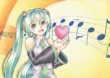 愛と歌を届けるヨー!