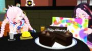 Ranaちゃんの誕生日をお祝い