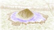 【二色絵】紫色の湖・・・?