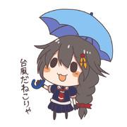 やる気のない時雨