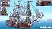 戦列艦 -Santa Amelia- Minecraft XboxOne