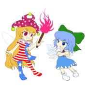 最強の妖精vs最狂の妖精