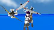 特III型駆逐艦暁型五番艦あき(駆逐空母艦仕様)