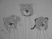 宇宙化猫ミクニャンズ