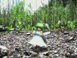 虹石を見つけた大妖精さん(小)