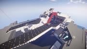 【Minecraft】アーガマ級強襲巡洋艦1番艦 アーガマ