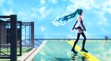 【MMD】屋上と青空とミクと