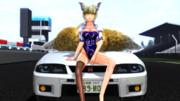 レースクイーン藍様withBCNR33