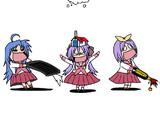タミフルらき☆すた三姉妹