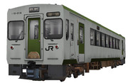キハ110-200番台切妻全面(嘘キハ)【MMD鉄道】