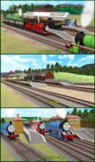 【MMDきかんしゃトーマス】ソドー鉄道駅舎アクセサリ3セット【配布あり】