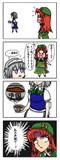 【漫画】咲夜さんと美鈴さん