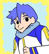 クレヨンしんちゃんの絵柄でKAITO