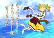 【蒼プラ】オランダ爆乳星人に負けたショックで海の魔物と化したポル子
