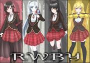 Team_RWBY Ruby/Weiss/Blake/Yang