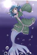 てんぷ……わかさぎ姫です!