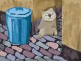 路地裏のMUR猫