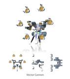 【MMD】ベクターキャノン【モデル配布】