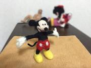 羊毛フェルト ミッキーマウス