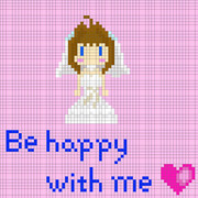 Be happy with me(ハート)