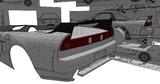 NSX-R 製作過程 DAY-19