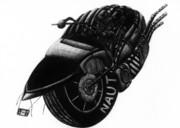 オウムガイ型一輪バイク