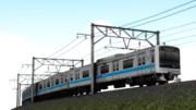 【MMD鉄道】曲線対応架線柱