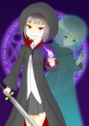 二重人格の魔法剣士