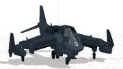 【第6回MMD航空祭】オリジナルVSTOL機