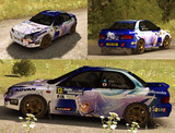 【Dirt Rally】痛車ラリーカーにしてみた2【プラメモ・アイラ】