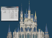 シンデレラ城3Dモデル 6