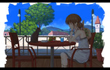 午後3時のカフェテラス
