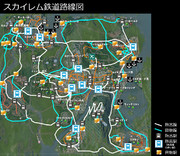 【Cities: Skylines】スカイレム路線図(Part14時点)