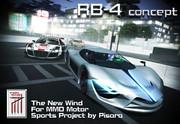 【MMD自動車】RB-4 concept 完成は遠い。