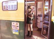 長崎の路面電車と時雨