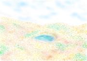 山中の風景(紅葉)
