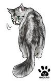 デフォルメ猫18