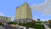 【Minecraft】 ビジネスホテル 【地方空港とまち】