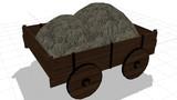 【MMD】藁の入った荷車【配布】