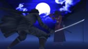 月下の死闘