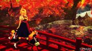 秋の紅葉の幻想郷