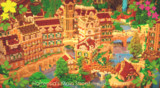 【Minecraft】新市街の目抜き通り周辺【オルタンシア】
