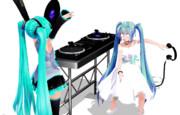 DJ×××ミク
