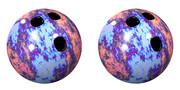 立体視画像70「ボウリングボール」
