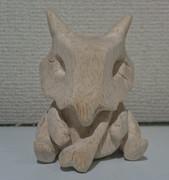 木彫りのカラカラ