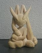 木彫りのミミロップ