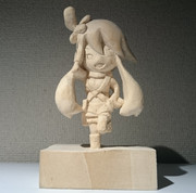木彫りのフウロ