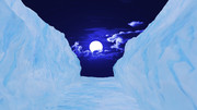 【MMDステージ配布】氷の壁 ST16【AL対応】