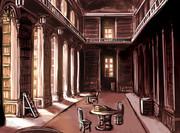 黄昏の図書館