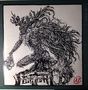 切り絵「Bloodborne」聖職者の獣